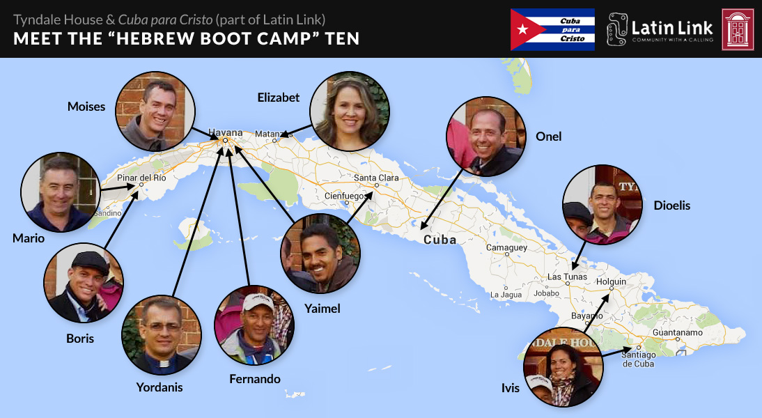 The 10 Cubans and where they are from